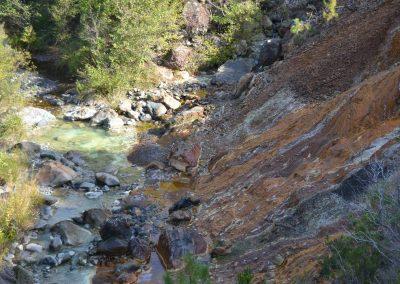 Regimazione acque ex miniere di Libiola